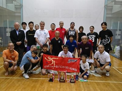 JWHA第28回 4-Wallダブルス選手権 結果
